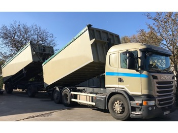SCANIA G450 - tipper