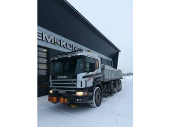 SCANIA P124GB - tipper