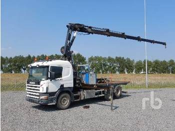 Tipper SCANIA P124GB6X2NA 6x2