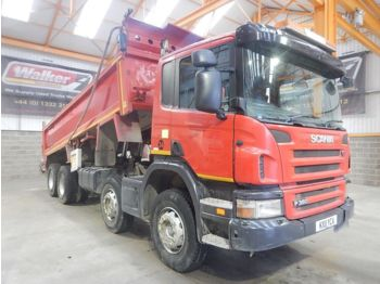 Tipper SCANIA P360 EURO 5, 8 X 4 STEEL MUCKSHIFT TIPPER - 2011 - KX11 YCA