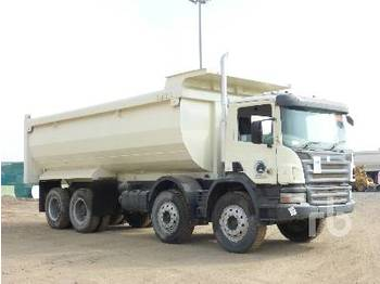 SCANIA P420CB 8x4 - tipper
