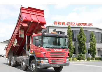 Tipper SCANIA P 400 8X4 TIPPER RIGHT HAND DRIVE