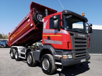 SCANIA R420 - tipper