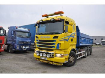 Leasing SCANIA R480 Tridem 8x4 - tipper