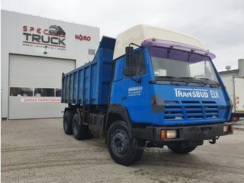 STEYR 1491 Tipper 6x4, Full Steel, big axles ,6 CYLINDERS - tipper