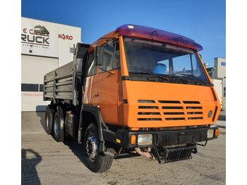 Tipper STEYR 32S28, Tipper 6x6, Full Steel, big axles: picture 1