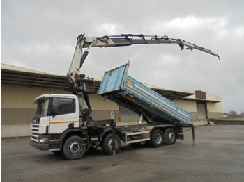 Scania G124-420 8X2 - tipper