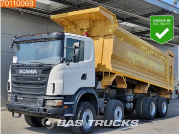 Scania G400 8X4 Manual 26m3 Big-Axle Steelsuspension - tipper