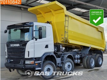 Scania G400 8X4 Manual 28m3 Big-Axle Steelsuspension - tipper