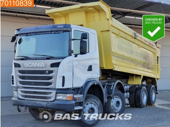Scania G400 8X4 Manual 30m3 Big-Axle Steelsuspension - tipper