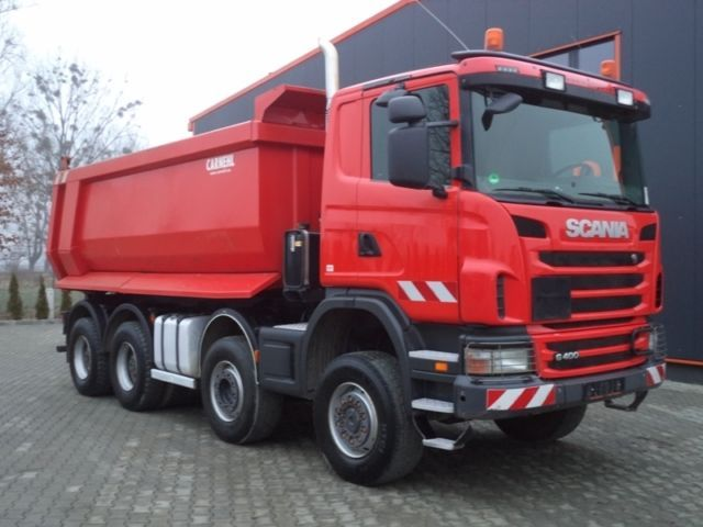 scania g400 8x6 euro5 carnehl kipper german lkw tipper from poland for sale at truck1 id 1622696. Black Bedroom Furniture Sets. Home Design Ideas