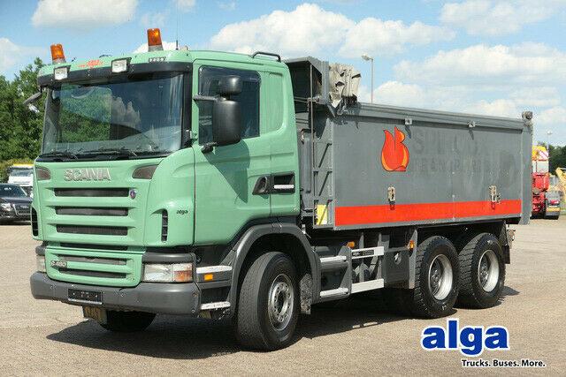 tipper Scania G480CB6x4, Mulde 17m³, Plane, 16-Schalter,Euro 4