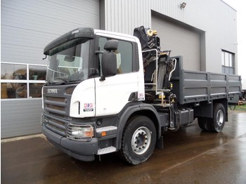 Scania P310 4x2 Crane Hiab 111BS-2 CLX NEW/UNUSED - tipper