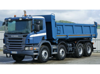 Scania P380 Kipper 6,00m + Bordmatic *8x4 Topzustand!  - tipper