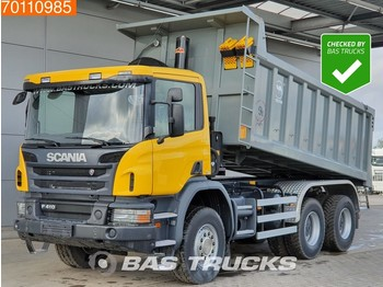 Scania P410 6X4 Manual Big-Axle Steelsuspension Euro 3 - tipper
