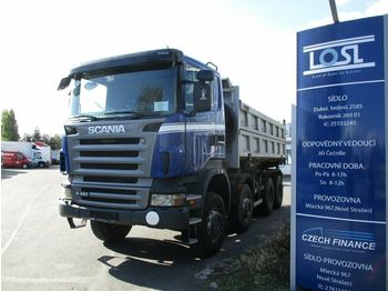 Scania R420 8x6 EURO 4  - tipper
