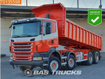 Scania R440 8X4 Manual Big-Axle Steelsuspension Euro 5 - tipper