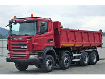 Scania R480 Kipper 6,20m+Bordmatic *8x4*Topzustand!  - tipper