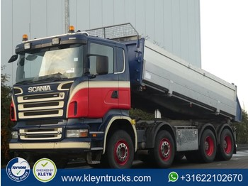 Scania R500 8x4 steel manual - tipper