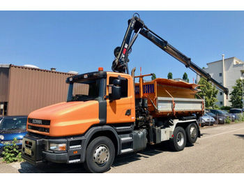 Scania T114 GB 6x2  - tipper