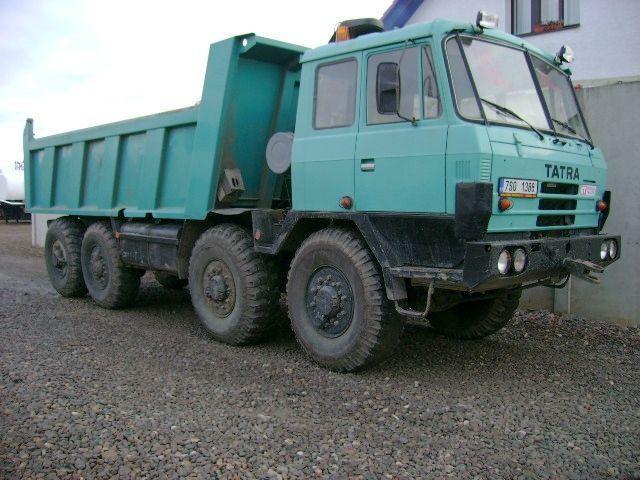 TATRA 815 S1 TP 24 265 8x8 tipper from Czech Republic for ...
