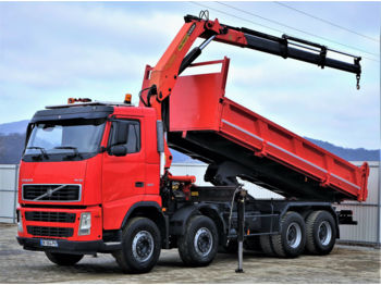 Tipper Volvo FH12 420 Kipper+Bordmatic 6,30m+Kran Topzustand!