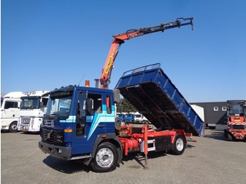 Volvo FL6 TURBO + Manual + PTO + Palfinger crane + Kipper+remote - tipper