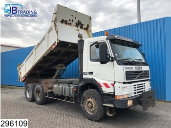 Volvo FM12 340 6x4, Manual, Steel suspension, Hub reduction - tipper