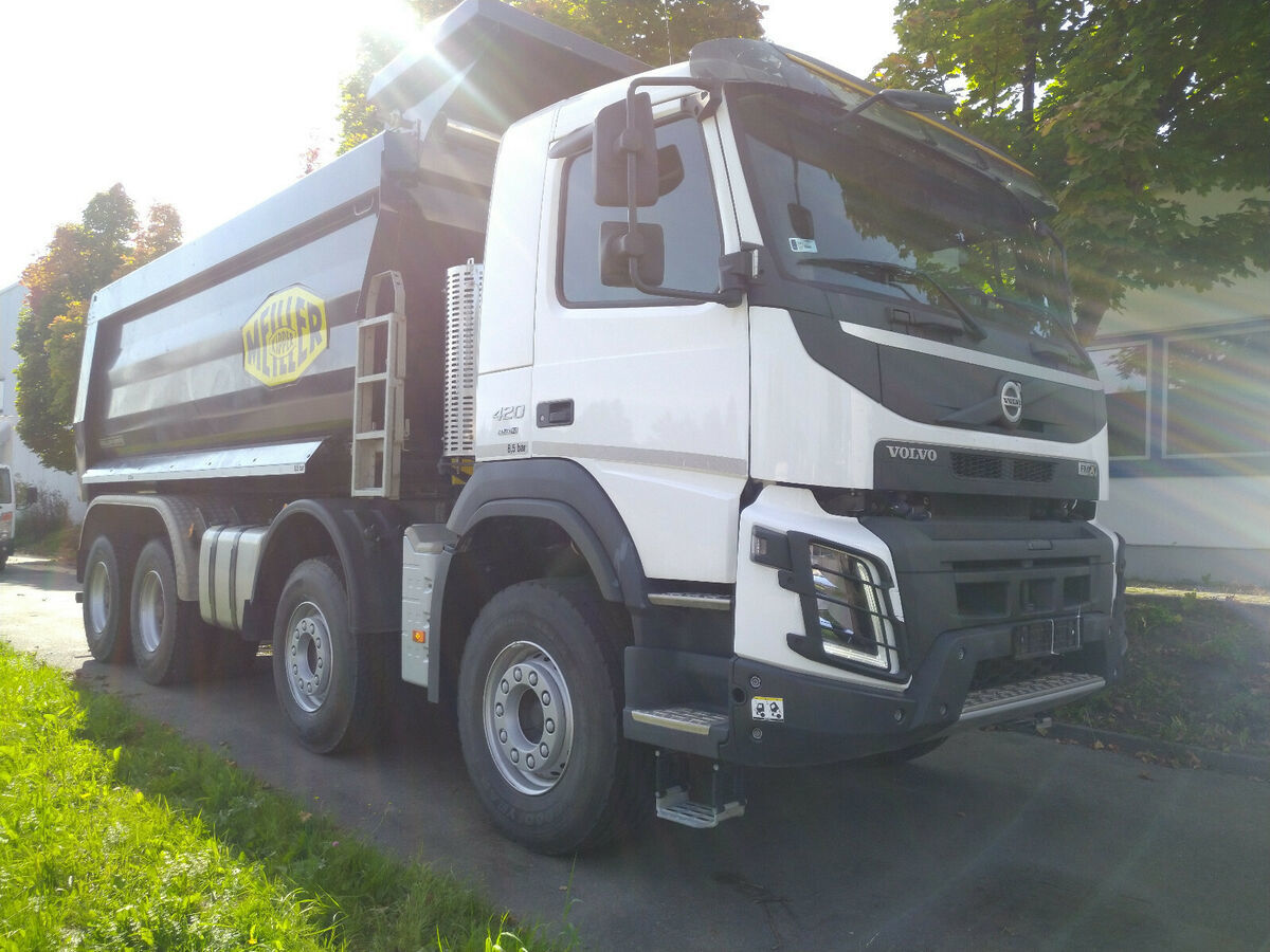 tipper Volvo FMX 8x4R MEILLER HeyvyDuty GCW50to 20m3 like NEW