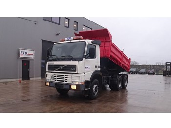 Volvo FM 10 - 320 (EURO 2 / BIG AXLE / STEEL SUSPENSION / GRAND PONT / SUSPENSION LAMES) - tipper