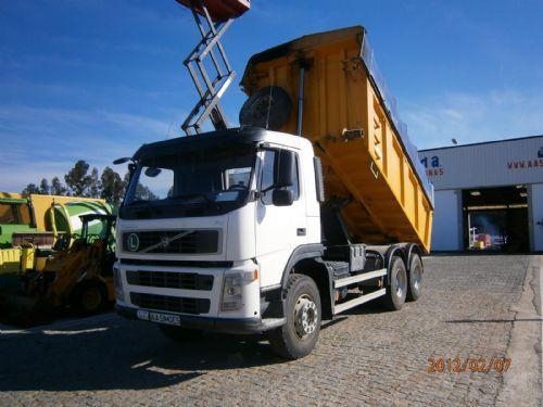 volvo fm 13 420 6x4 manual gearbox big axles tipper miller kipper rh truck1 eu New Volvo Trucks 2013 Volvo FM Truck Underground