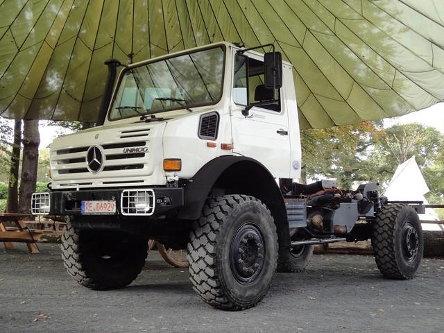 Unimog U 5000 U5000 3 85m Radstand 12000 Km Eps Truck From