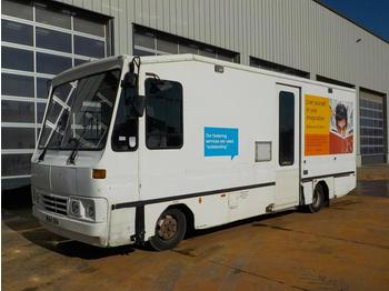 2004 DAF 4x2 Mobile Library Box Lorry, Reverse Camera - vending truck