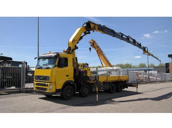 Truck Volvo FH12.460 8X4 OPEN BOX WITH EFFER 550 CRANE WITH JIB 405.000KM