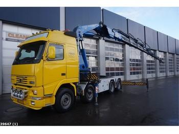 Truck Volvo FH 16.520 8x4 Fassi 90 ton/meter laadkraan