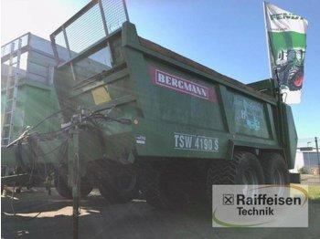 Bergmann TSW 4190S - maşină de împrăştiat gunoi de grajd