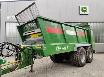 Bergmann TSW 5210 S - maşină de împrăştiat gunoi de grajd