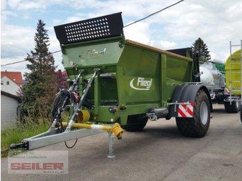 Fliegl KDS 120 Junior Einachs 12 m³ - maşină de împrăştiat gunoi de grajd