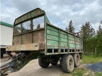 Fortschritt T 088 - maşină de împrăştiat gunoi de grajd