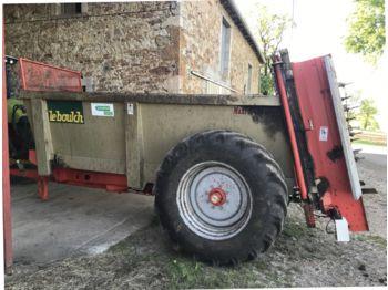 LeBoulch HVS 208 - maşină de împrăştiat gunoi de grajd
