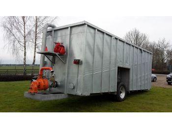 New Agomac gegalvaniseerde mest-pompcontainer - maşină de împrăştiat gunoi de grajd