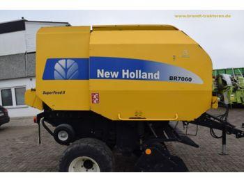 NEW HOLLAND BR 7060 Superfeed II - presă baloţi rotunzi