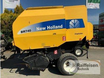 New Holland BR 740 CropCutter - presă baloţi rotunzi