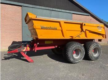 Remorcă autobasculantă agricolă Veenhuis JVZK 1800 kieper, kipper, kiepwagen