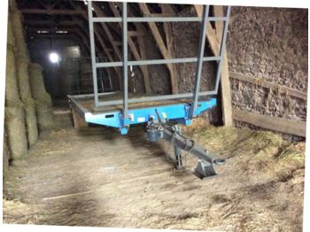 Remorcă platforma agricolă Metal agri PFP 90