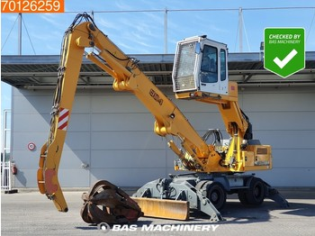 Liebherr A904 German machine - grapple - blade and outriggers - macara
