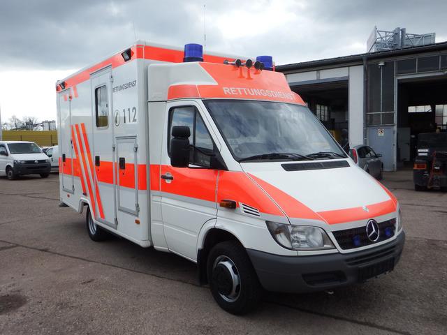 b698847bd6 Mercedes-Benz Sprinter 413 CDI KLIMA - Krankenwagen ambulance from ...