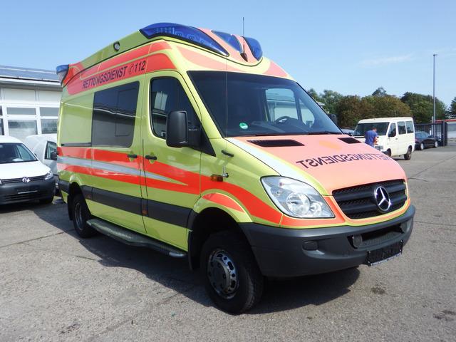 4X4 Sprinter Van For Sale >> Ambulance Mercedes Benz Sprinter 515 Cdi 4x4 Krankenwagen Klima Rettu Truck1 Id 3893558