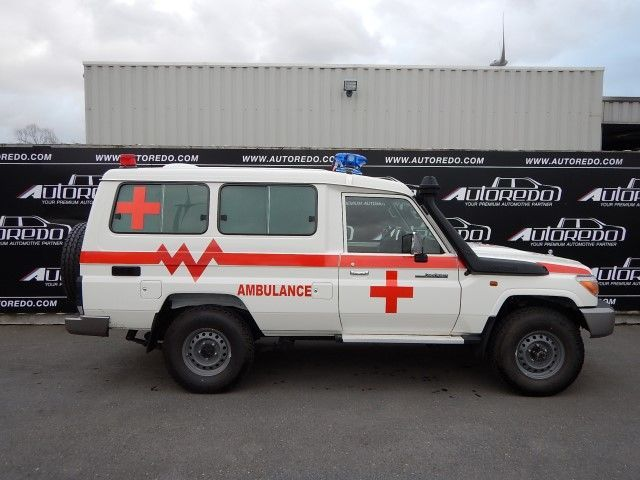 6c1265e909 New TOYOTA Landcruiser Hardtop ambulance for sale from Belgium at ...