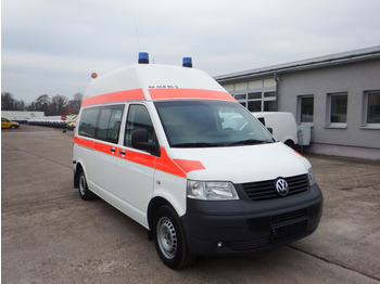 Ambulance VW T5 Transporter 2.5 TDI 4Motion - KLIMA Rampe - R